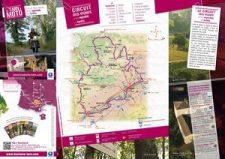 Circuit moto des vignes entre vignoble et forêts