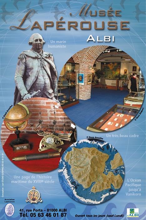 Affiche du musée Lapérouse
