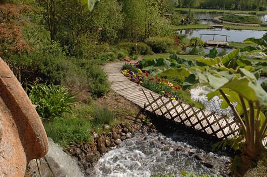Le jardins des Martels à Giroussens