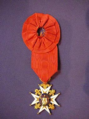 Croix de Saint-Louis en or