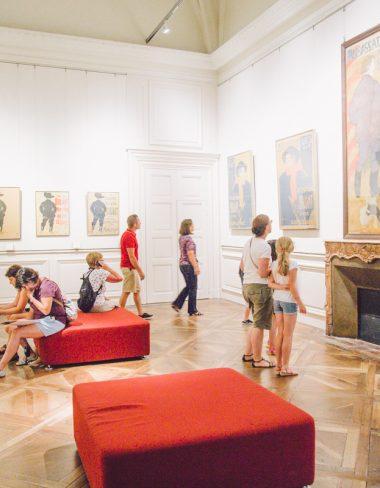 Visite en famille du Musée Toulouse Lautrec à Albi!
