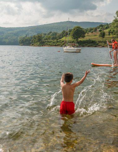 Une journée au lac du Laouzas