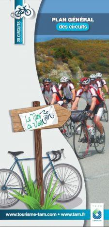 Plan général des circuits vélo