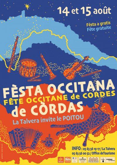Fèsta occitana de Còrdas – Fête occitane de Cordes