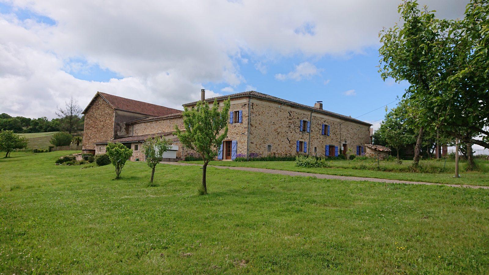 Gîte Les Rougemonts – La Peyrecout