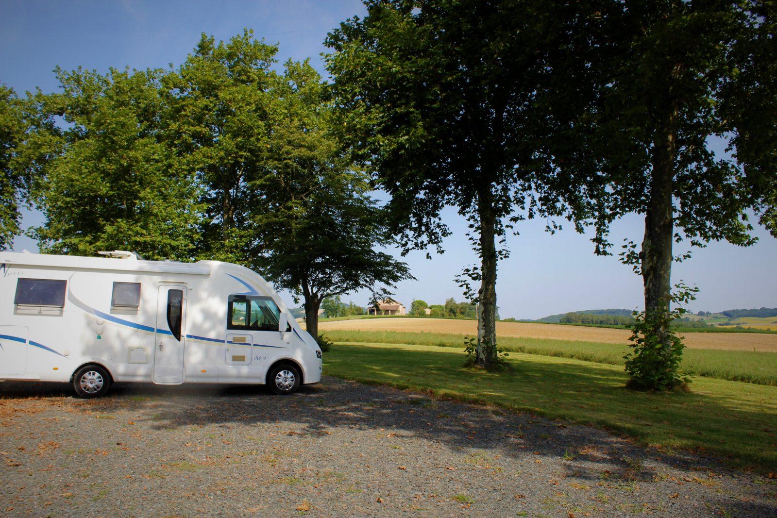 Aire de Stationnement Camping Car privée de Lautrec (Françoumas)