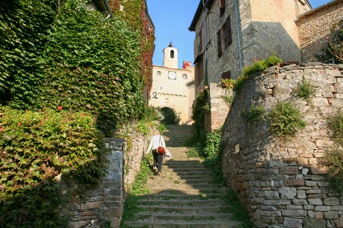 Cordes sur ciel – escaliers porte de l'horloge