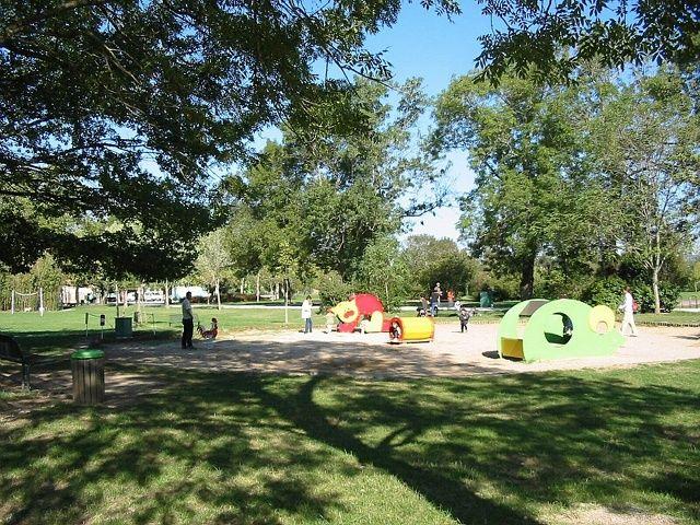 Parc de Gourjade jeux pour enfants