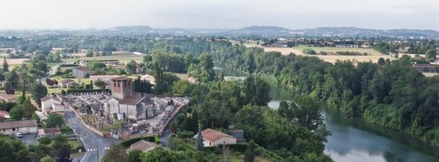 Eglise Saint-Michel au bord du Tarn_ lescure d'albigeois