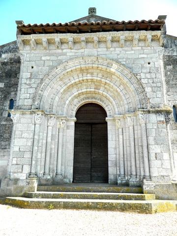 portail de Saint-Michel _ lescure d'albigeois