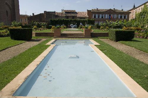 Jardins avec bassin – Lavaur