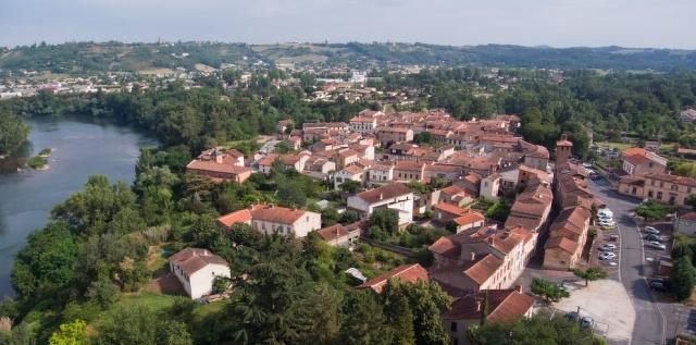 vue du village_ lescure d'albigeois