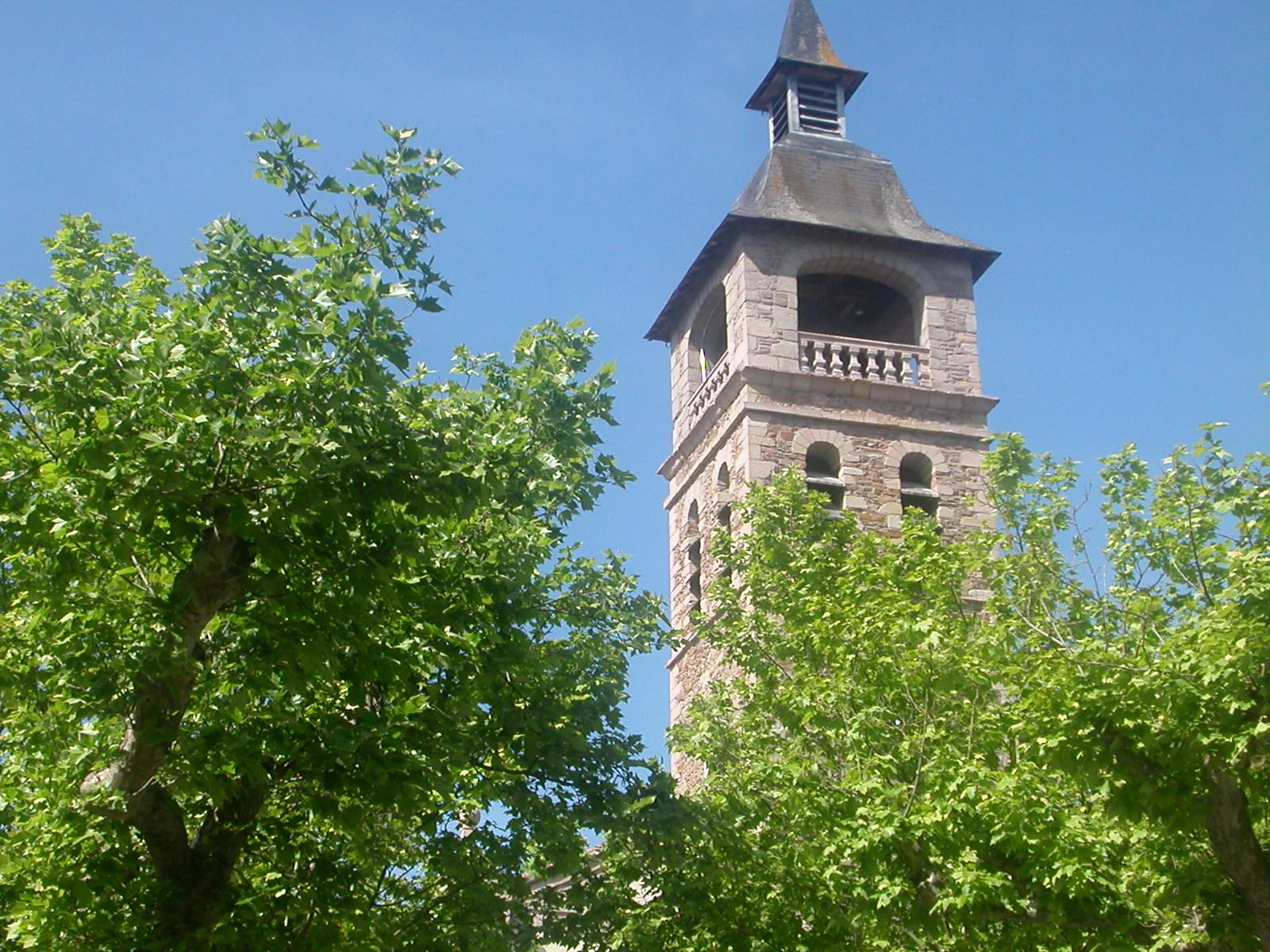 Clocher de l'église Notre Dame du Taur