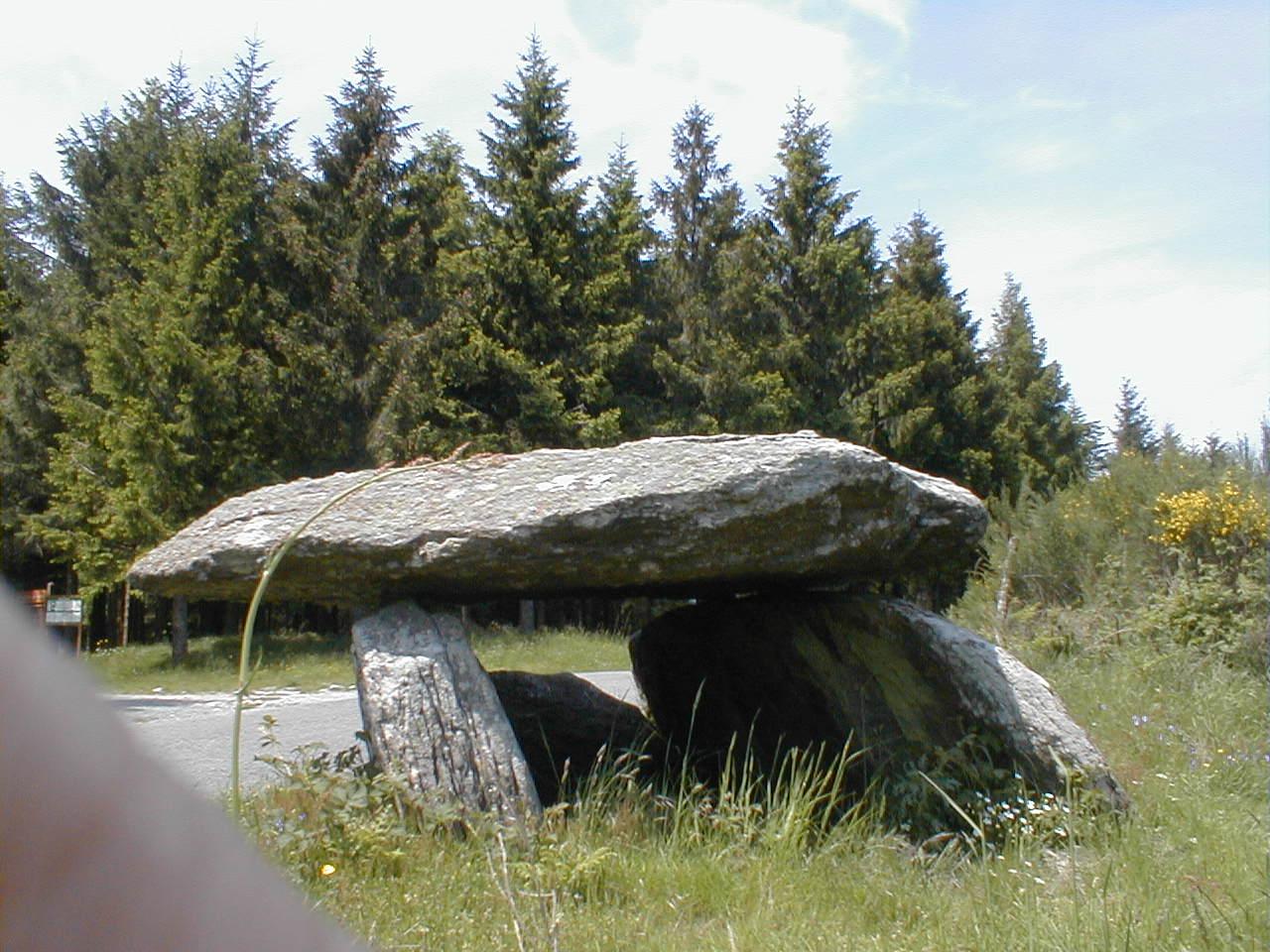 dolmen de la gante labastide rx
