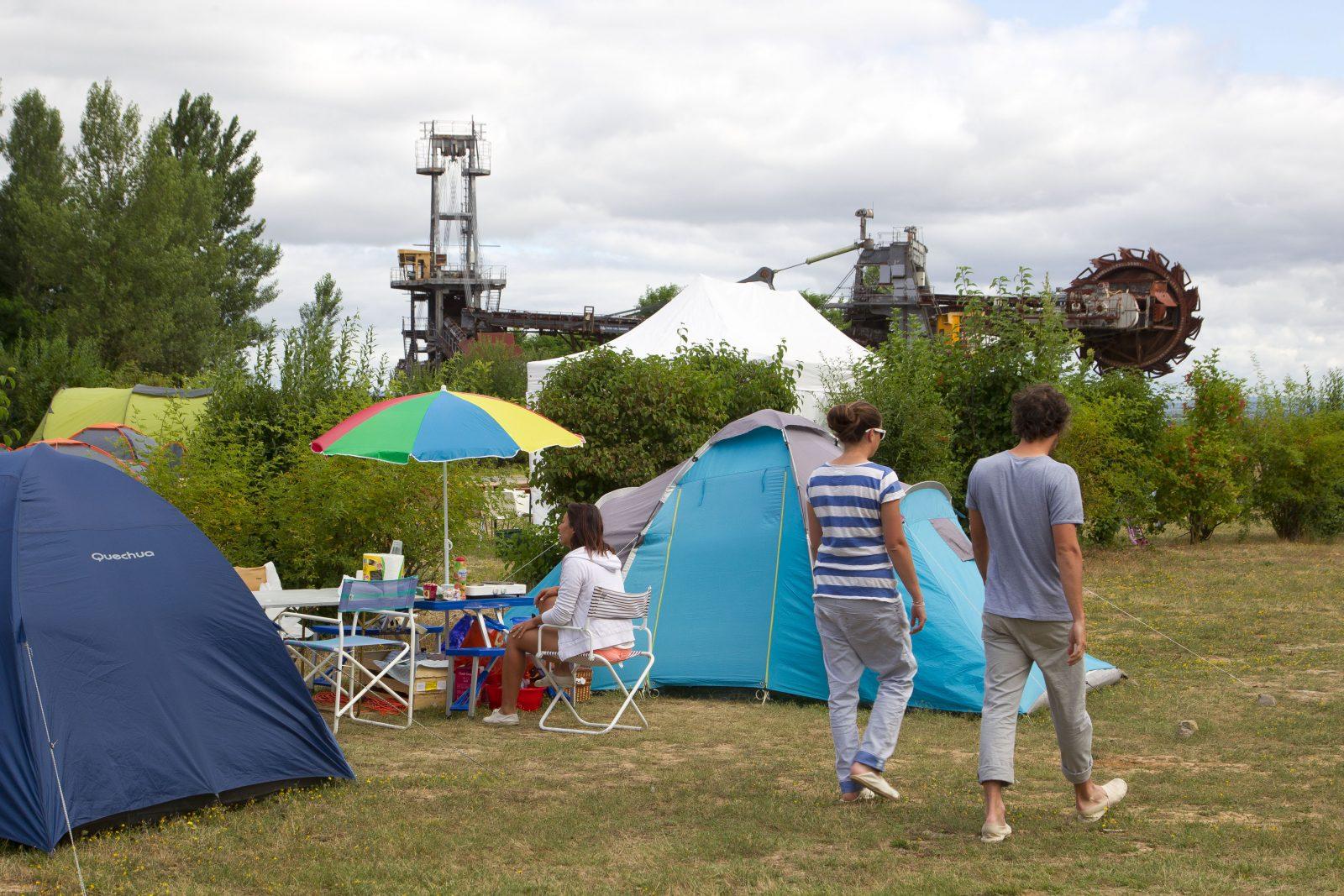 Camping du lac Ste Marie