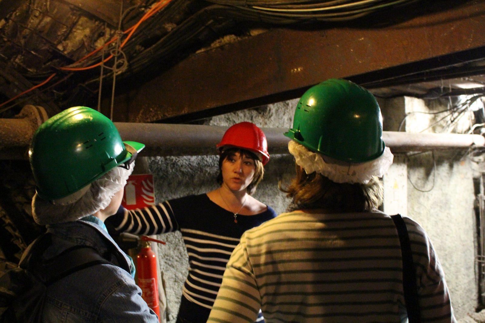 Visite musée-mine départemental