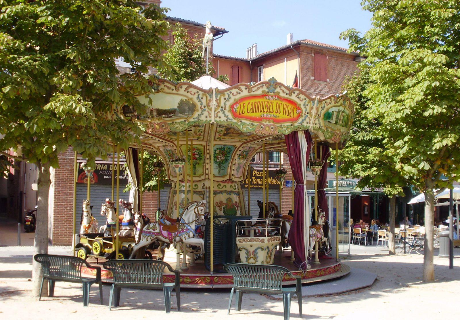 Albi carrousel du Vigan