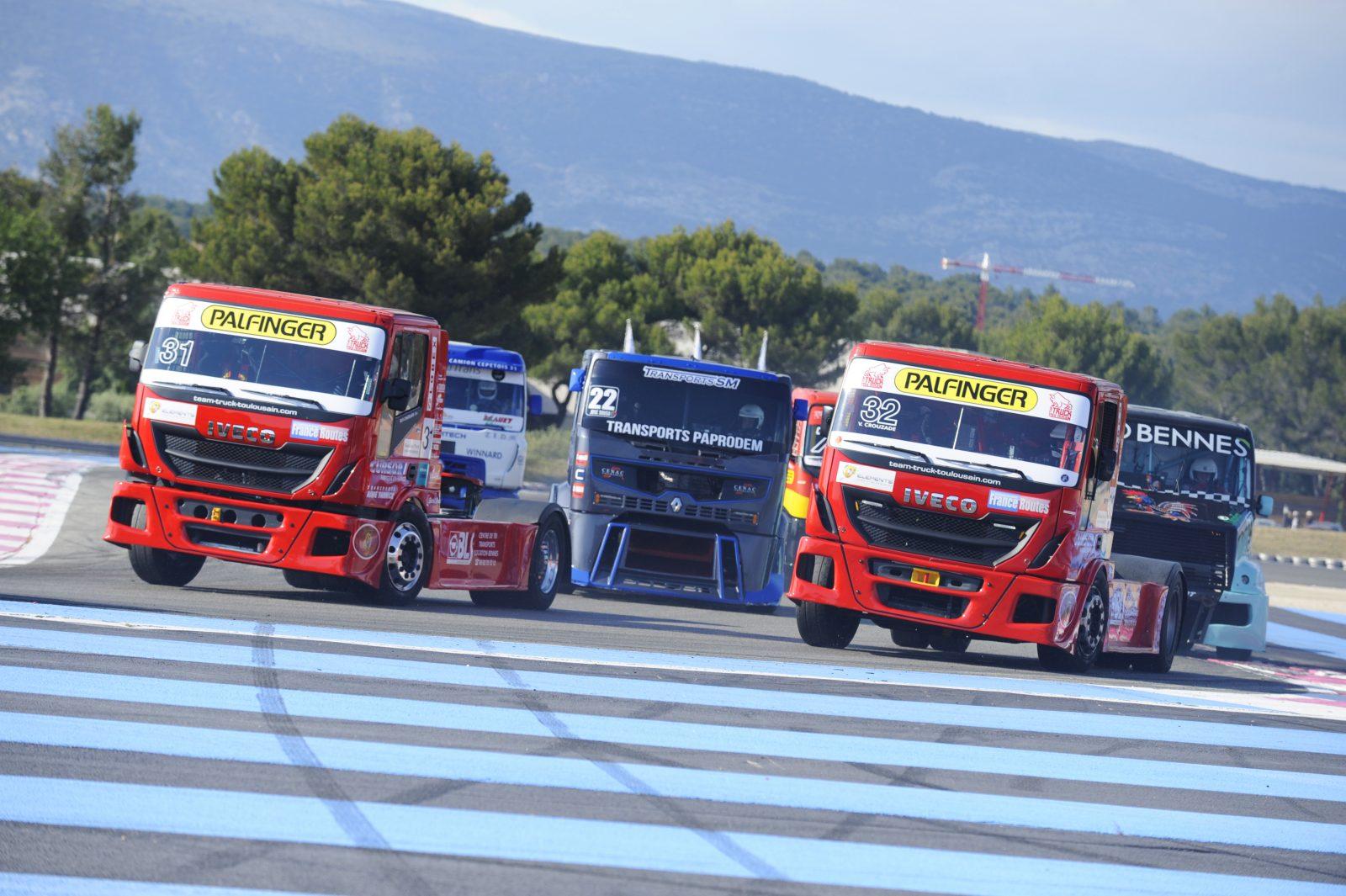 Compétition camions