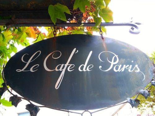 Restaurant Le café de Paris – Brassac
