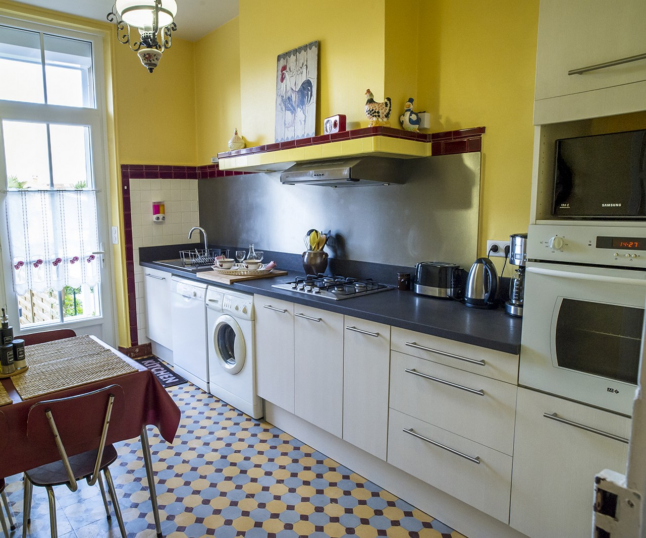 maison d'Henriette cuisine
