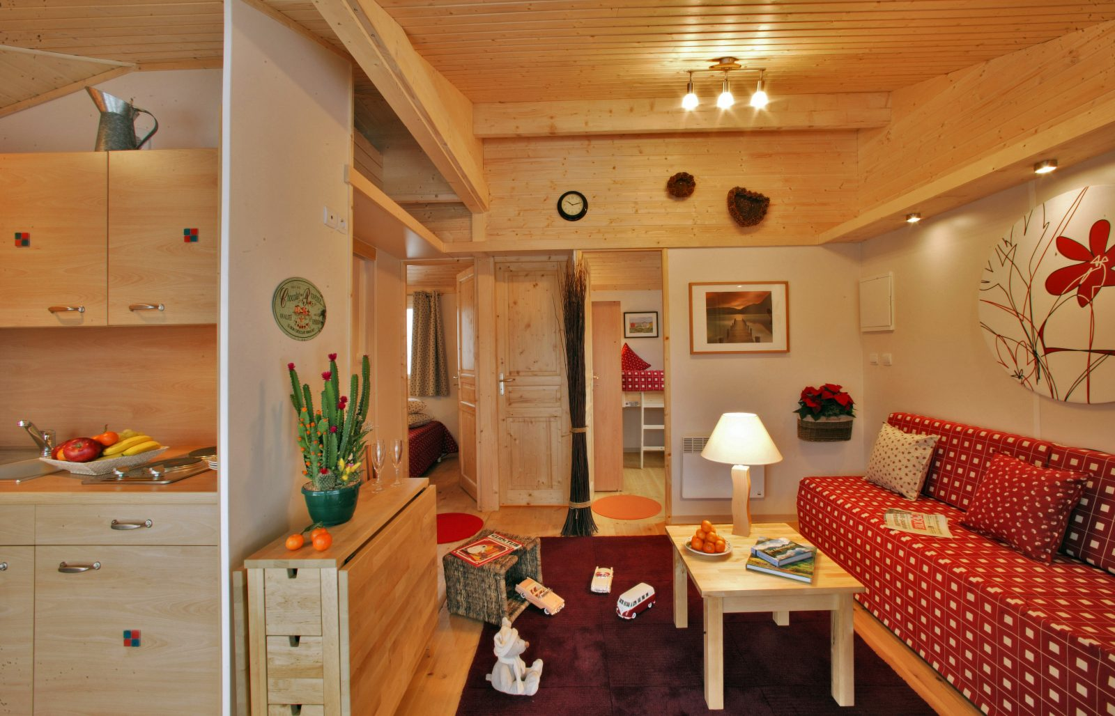 Albirondack Camping Tarn Chalet Tahoe interieur