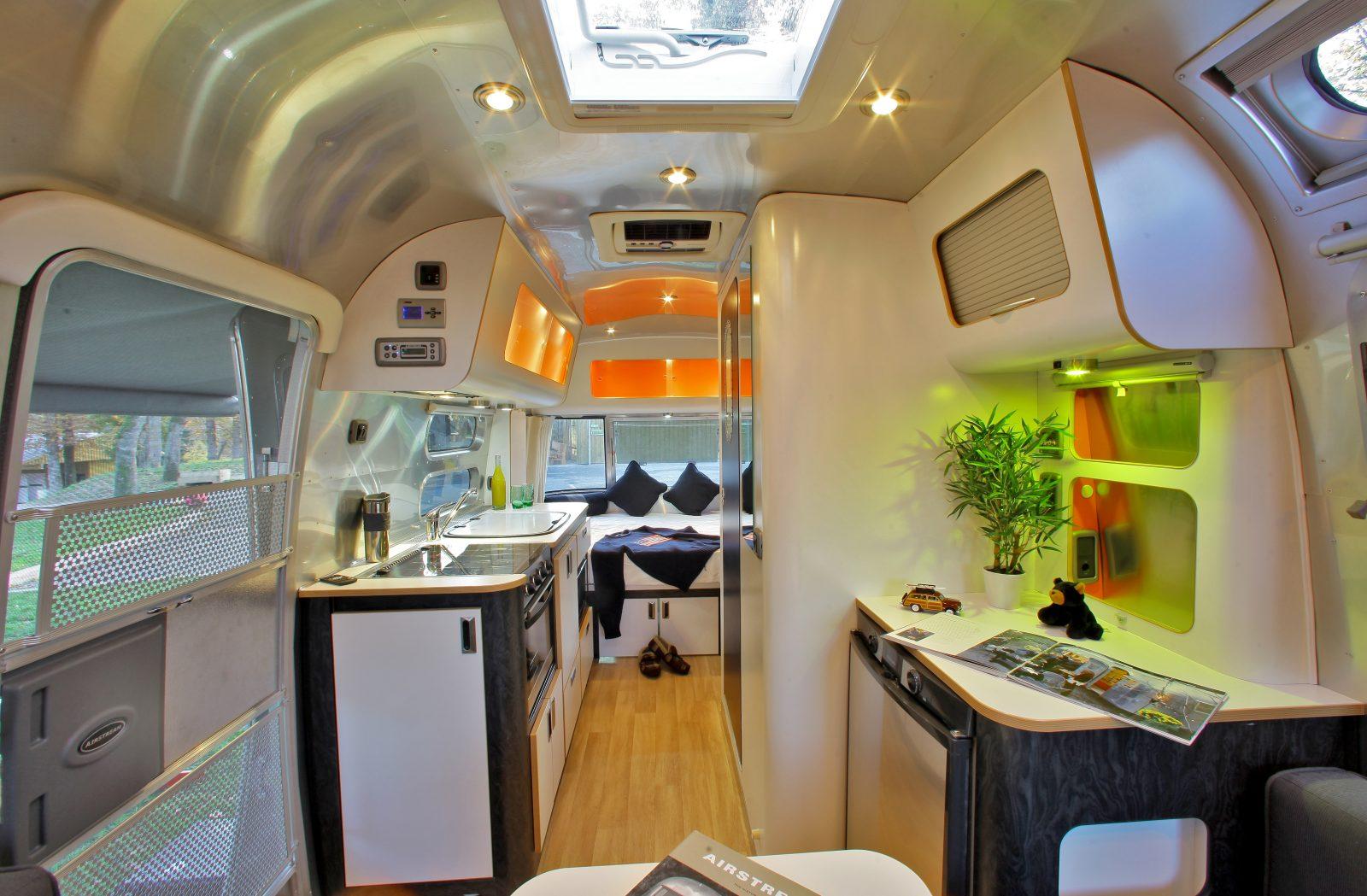 Albirondack Camping Tarn caravane Airstream