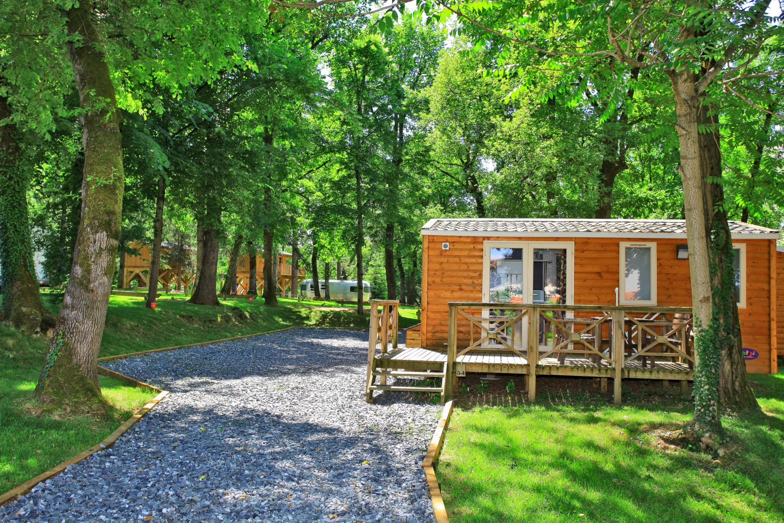 Albirondack Camping Tarn Mobile home Zion