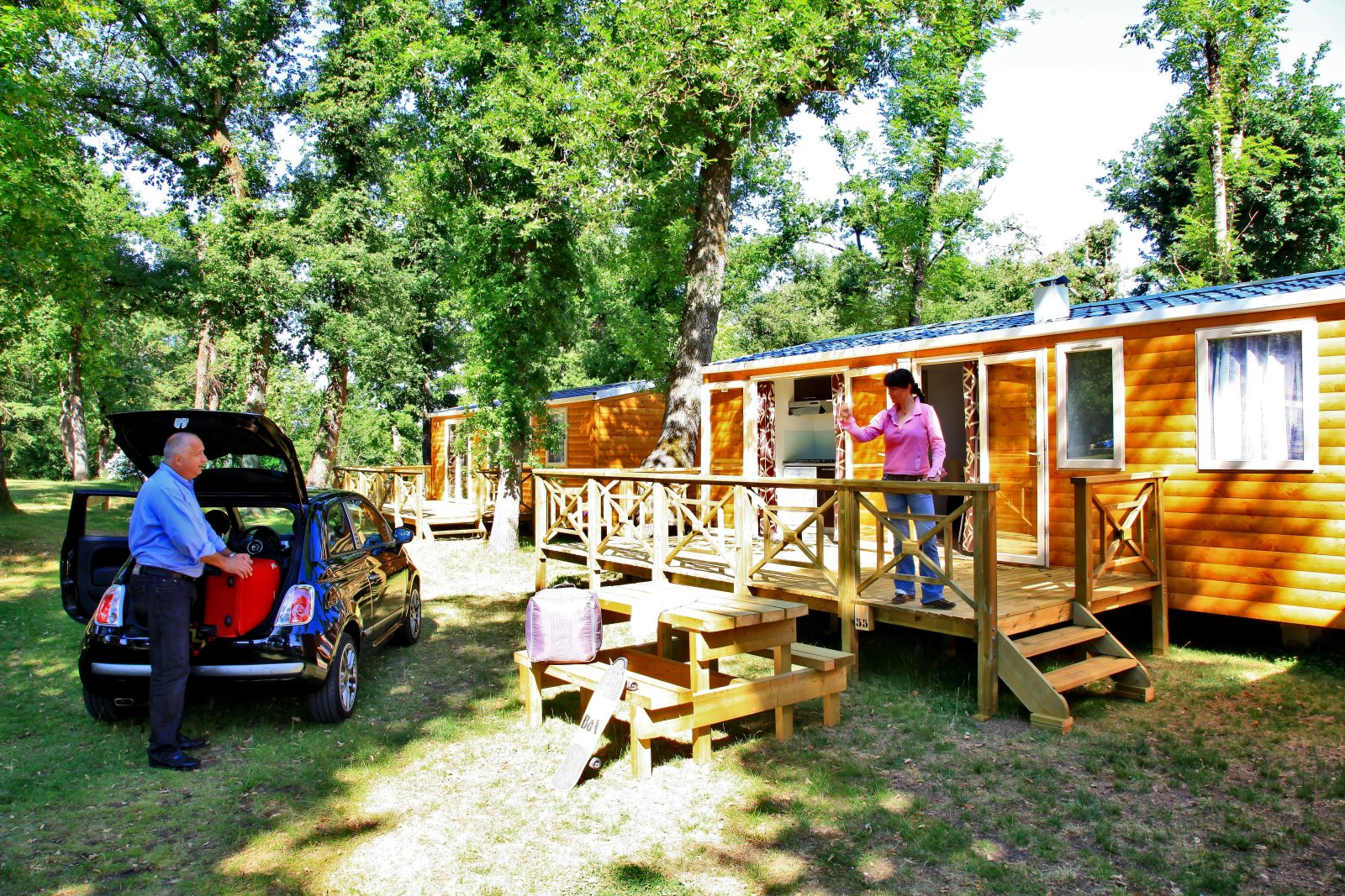 Albirondack Camping Tarn Mobile home sequoia