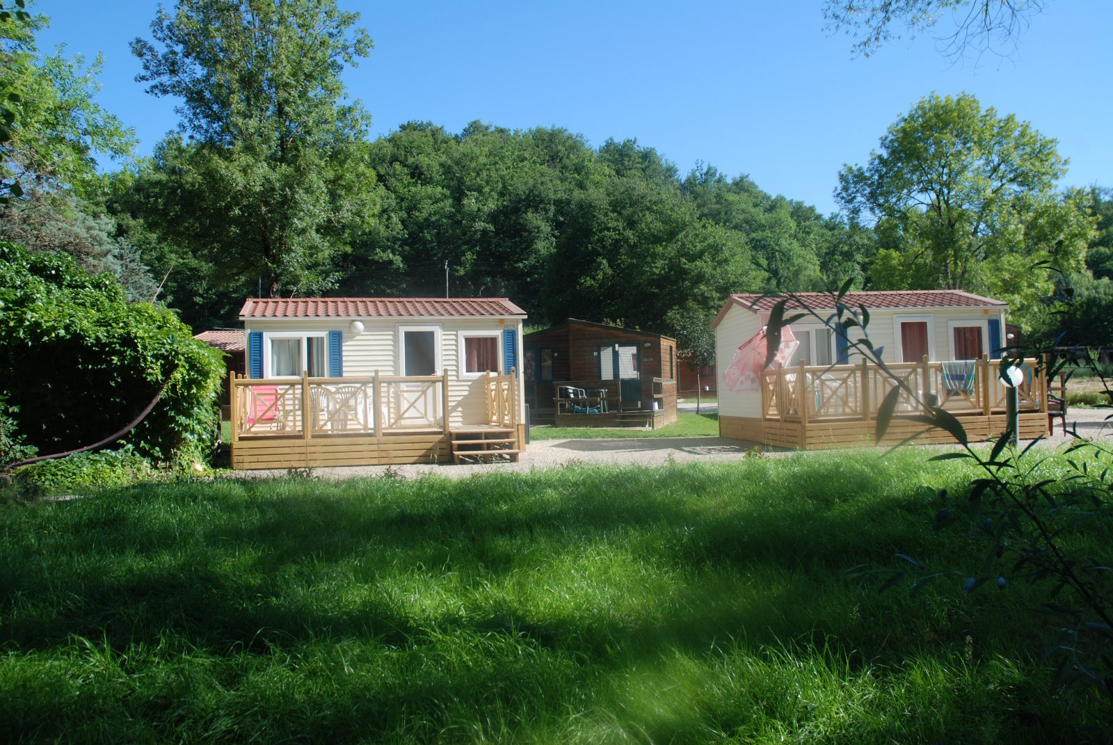 Domaine du Grand Chêne Mobile homes