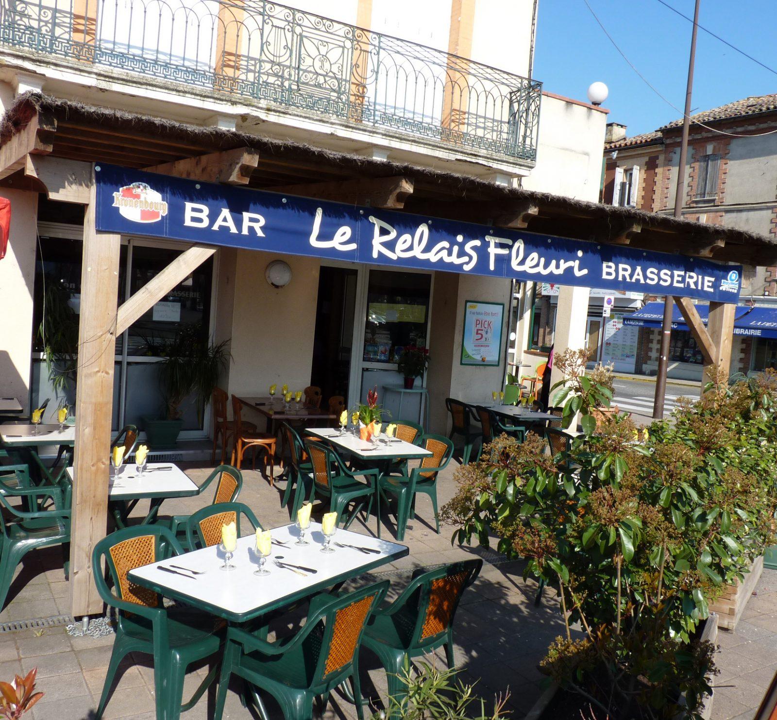 Le Relais fleuri Bar Brasserie Saint Sulpice