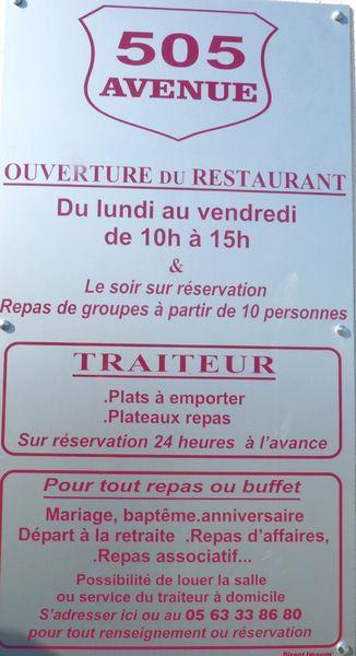 Restaurant le 505 Avenue