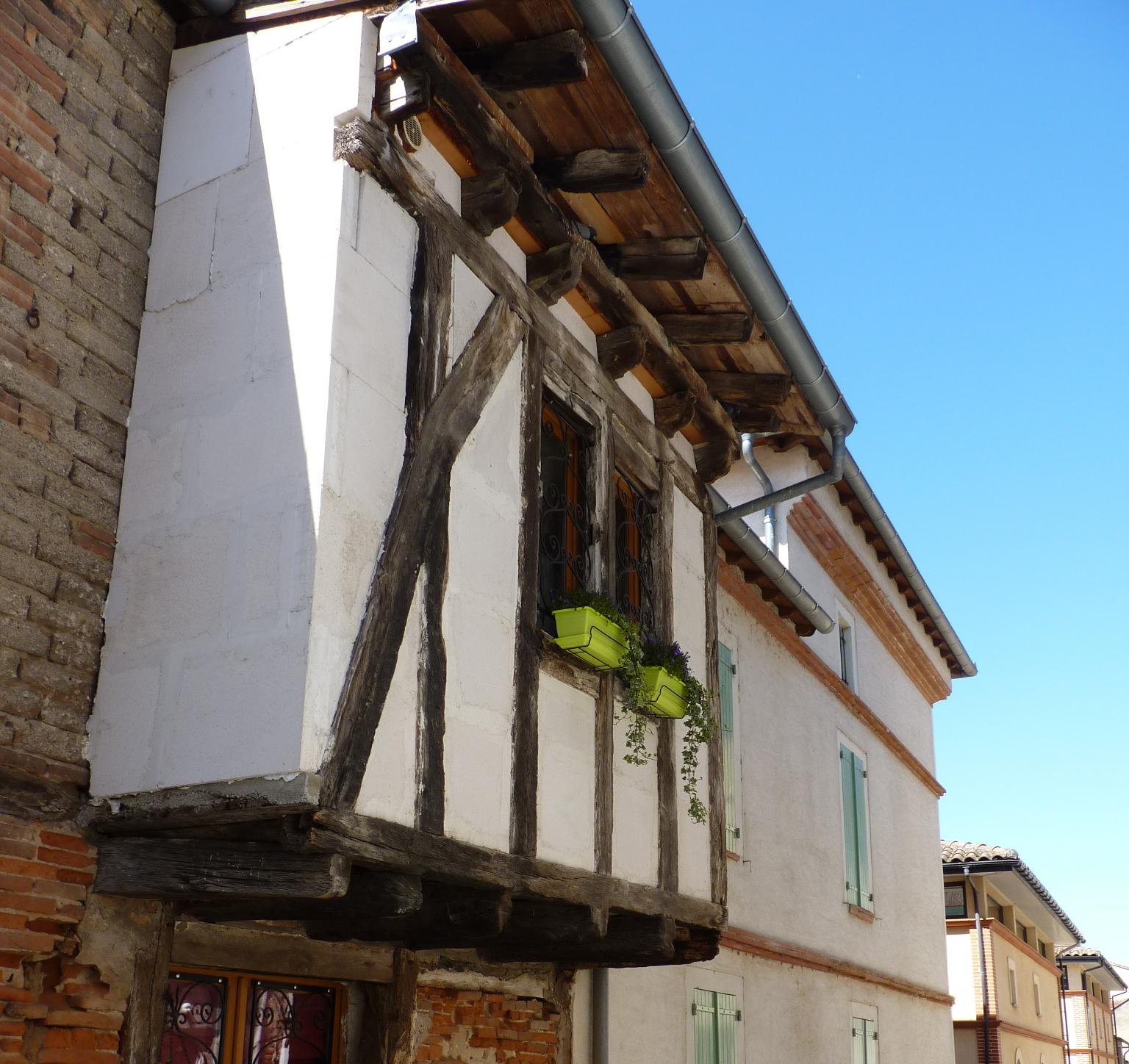 Maison à colombage – Saint-Sulpice – Tarn