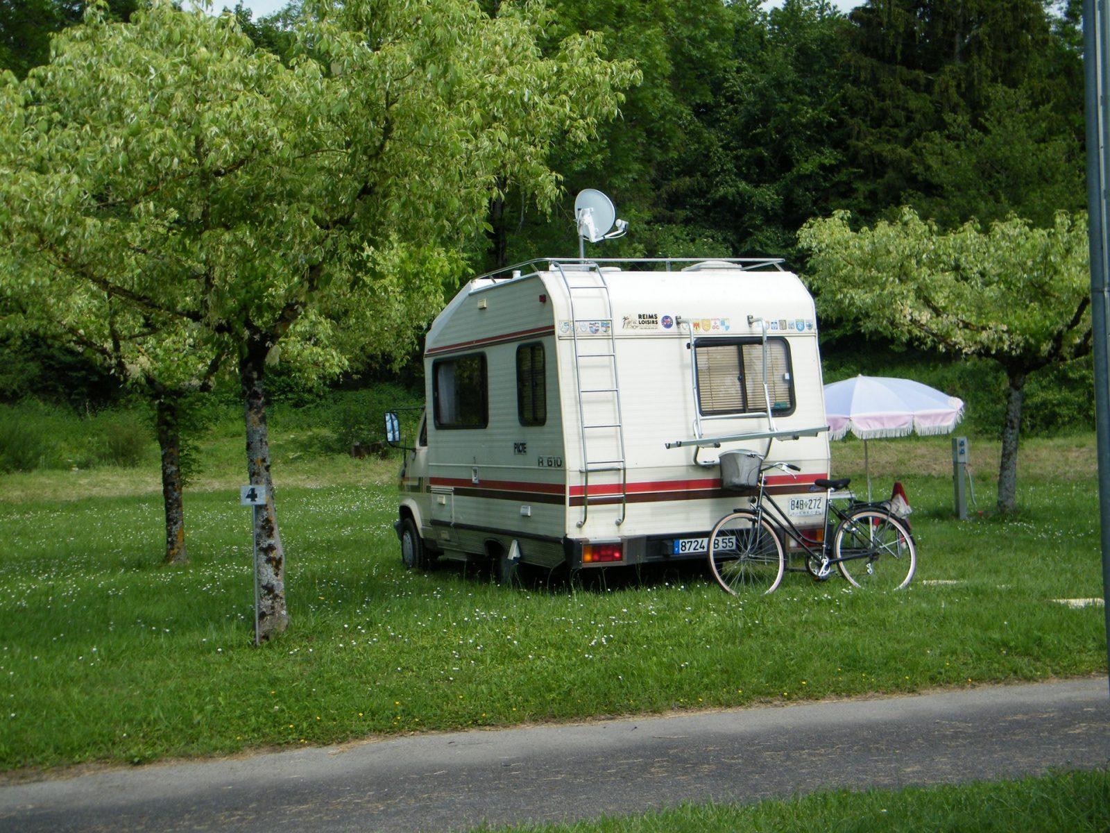 Municipal la Rabaudié Caravane et camping car
