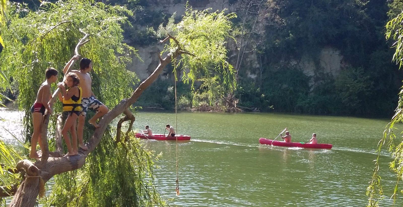 Chalets de Fiolles rivière