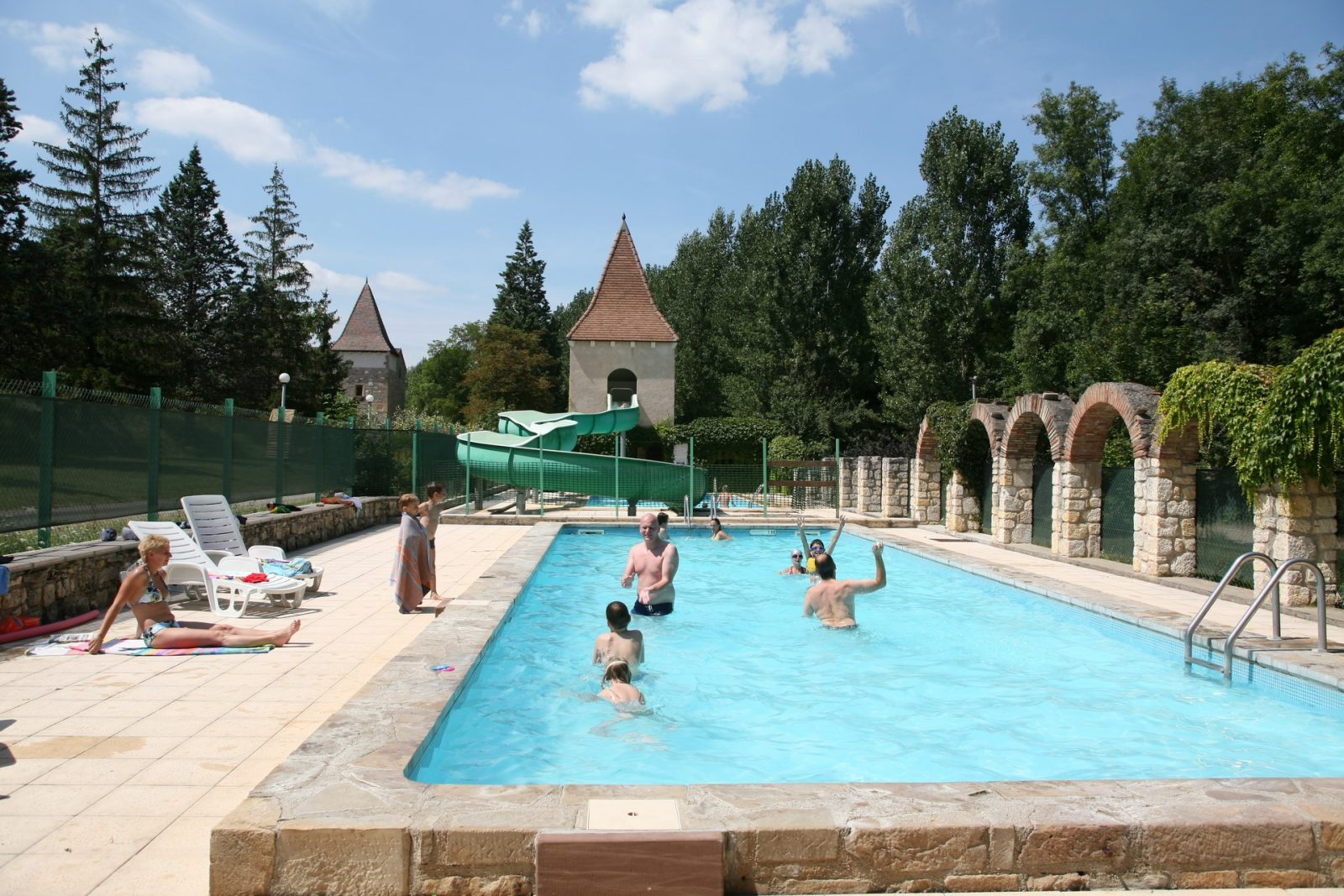 Moulin de Julien piscine