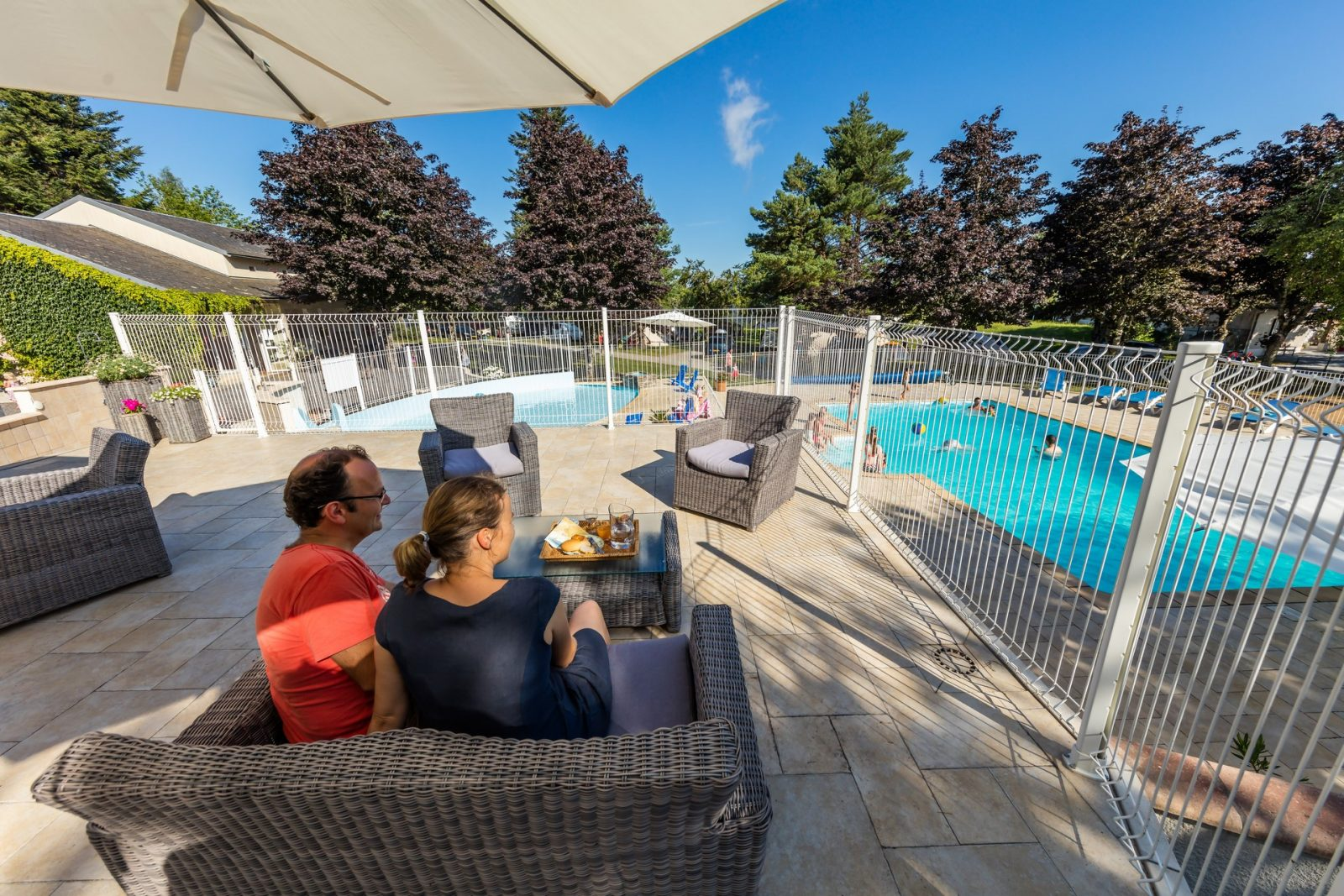Camping le plo le bez camping tarn tourisme for Camping a carcassonne avec piscine