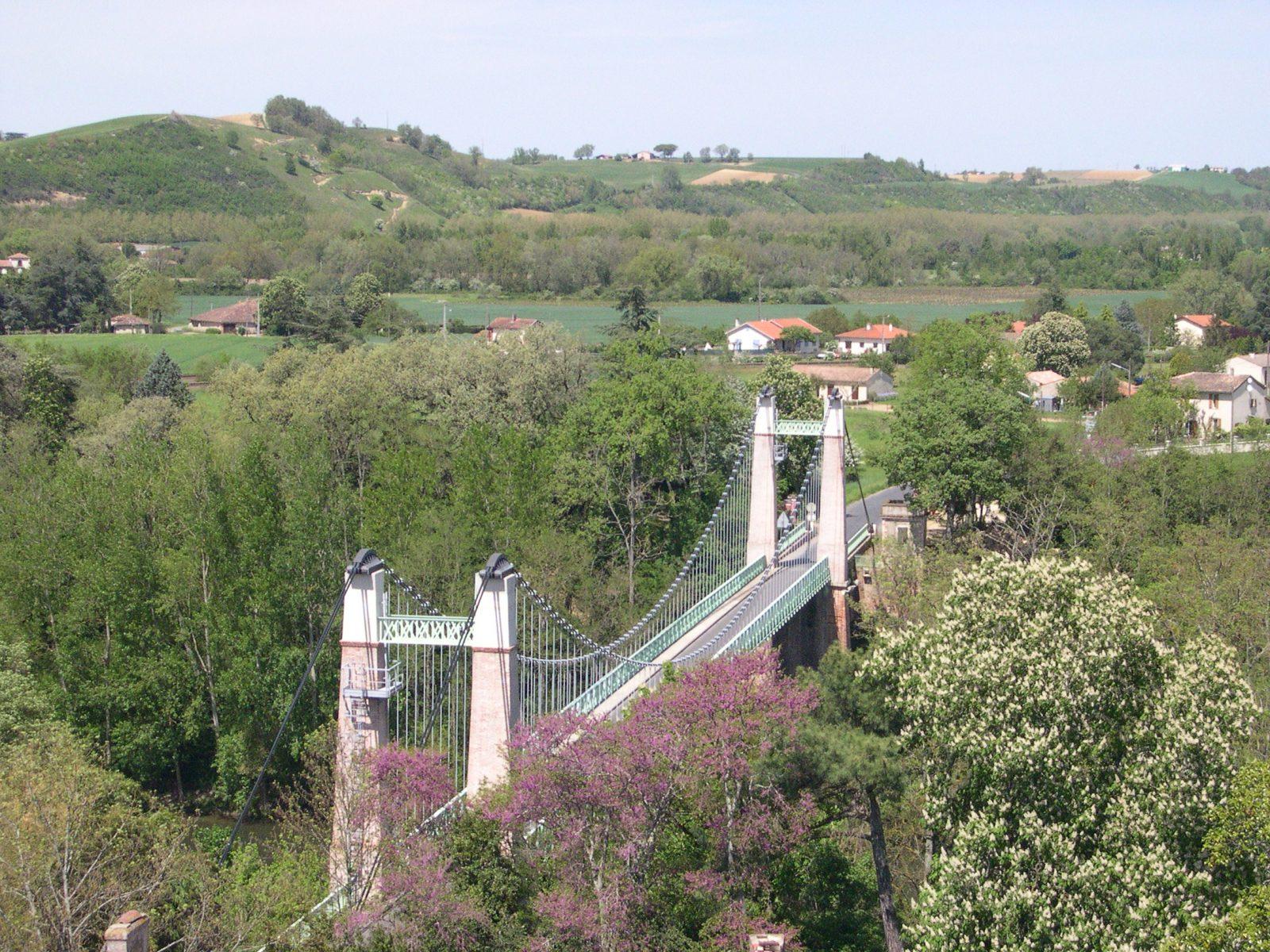 Pont suspendu – Saint-Sulpice- Tarn
