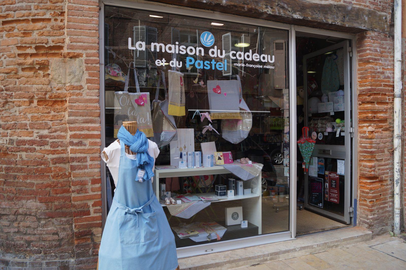 Boutique La Maison du Cadeau et du Pastel – Lavaur – Pays de Cocagne – Tarn