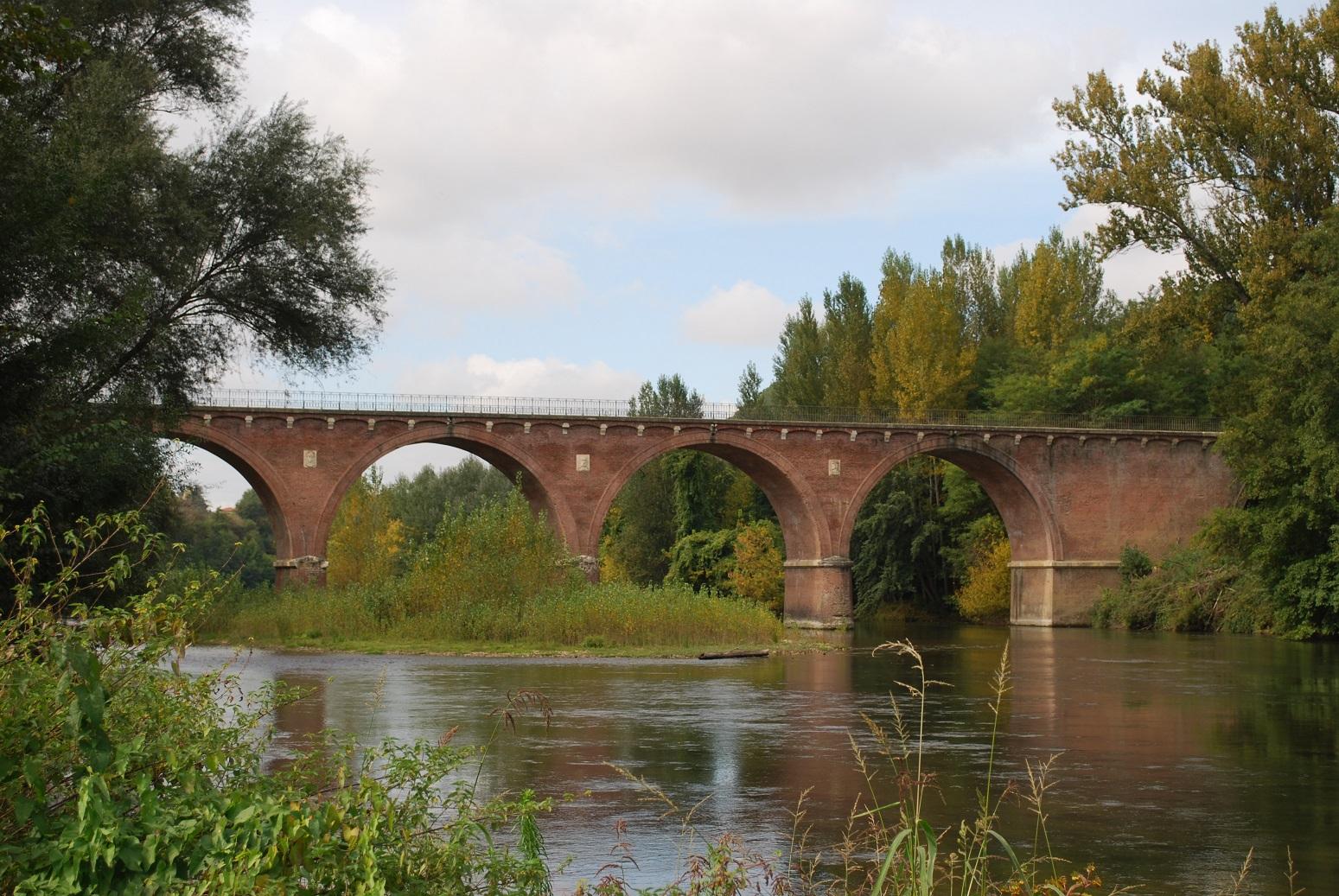 Pont sur l'Agout – Saint-Lieux-Les-Lavaur