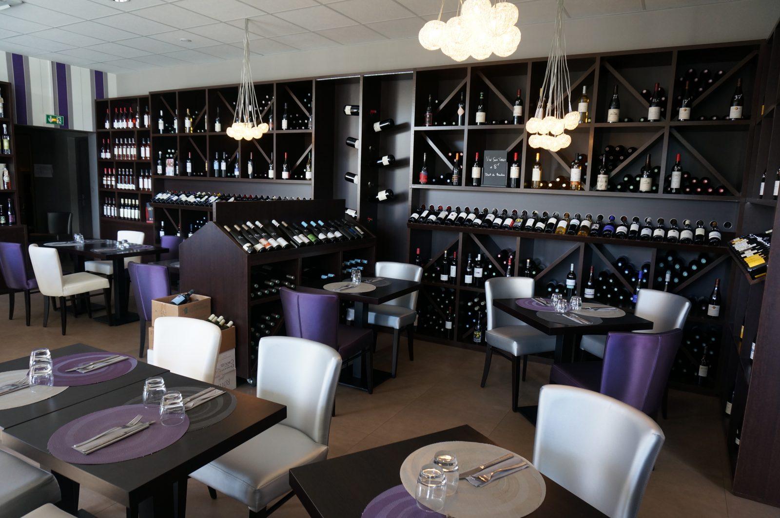 Cave à vins – restaurant l'Accord Parfait – Lavaur – Tarn