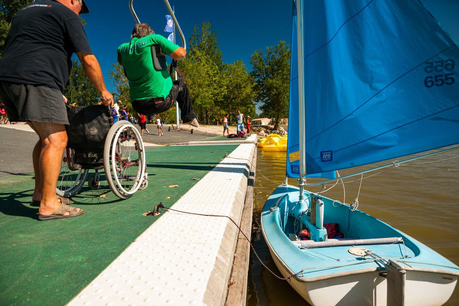 Espace des Etangs -Tourisme Handicap