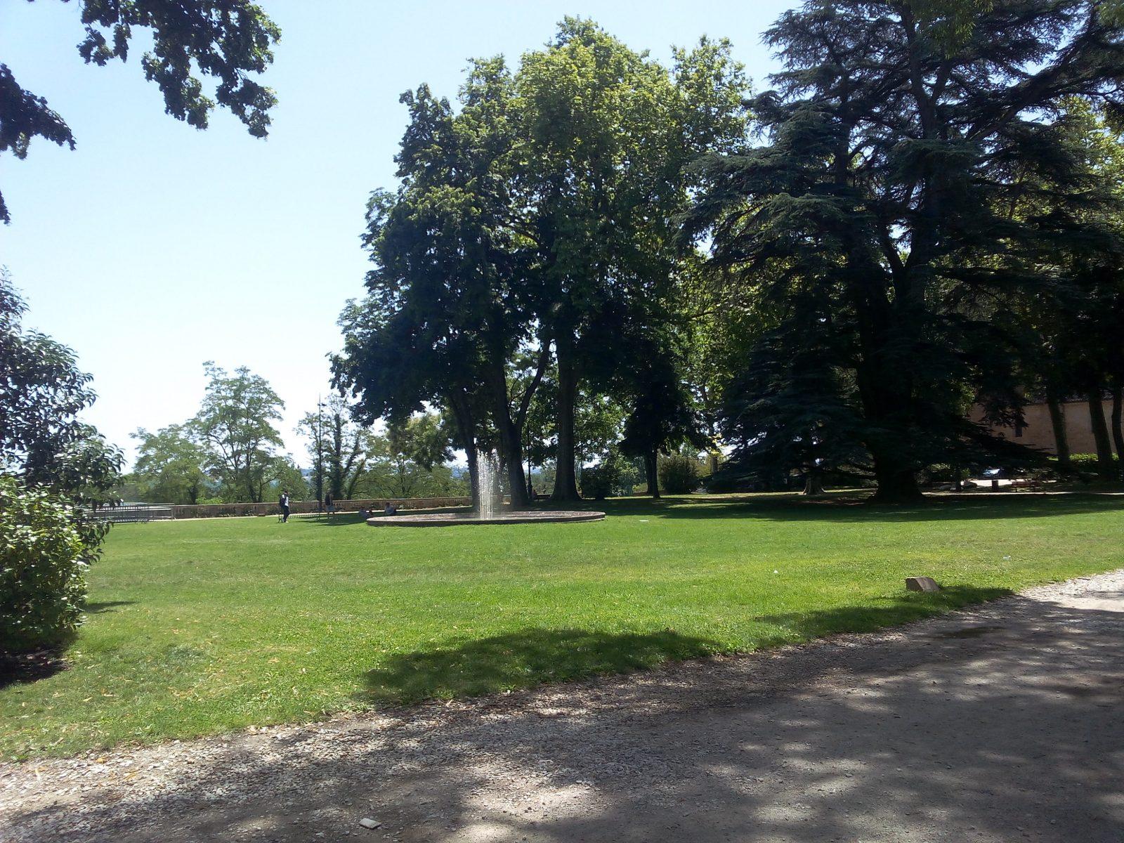 Jardin de l'évêché – Lavaur – Pays de Cocagne – Tarn