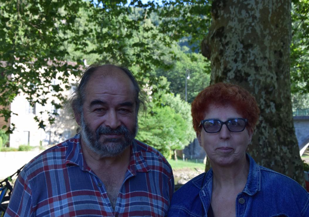 Denis et Florence Cabanes