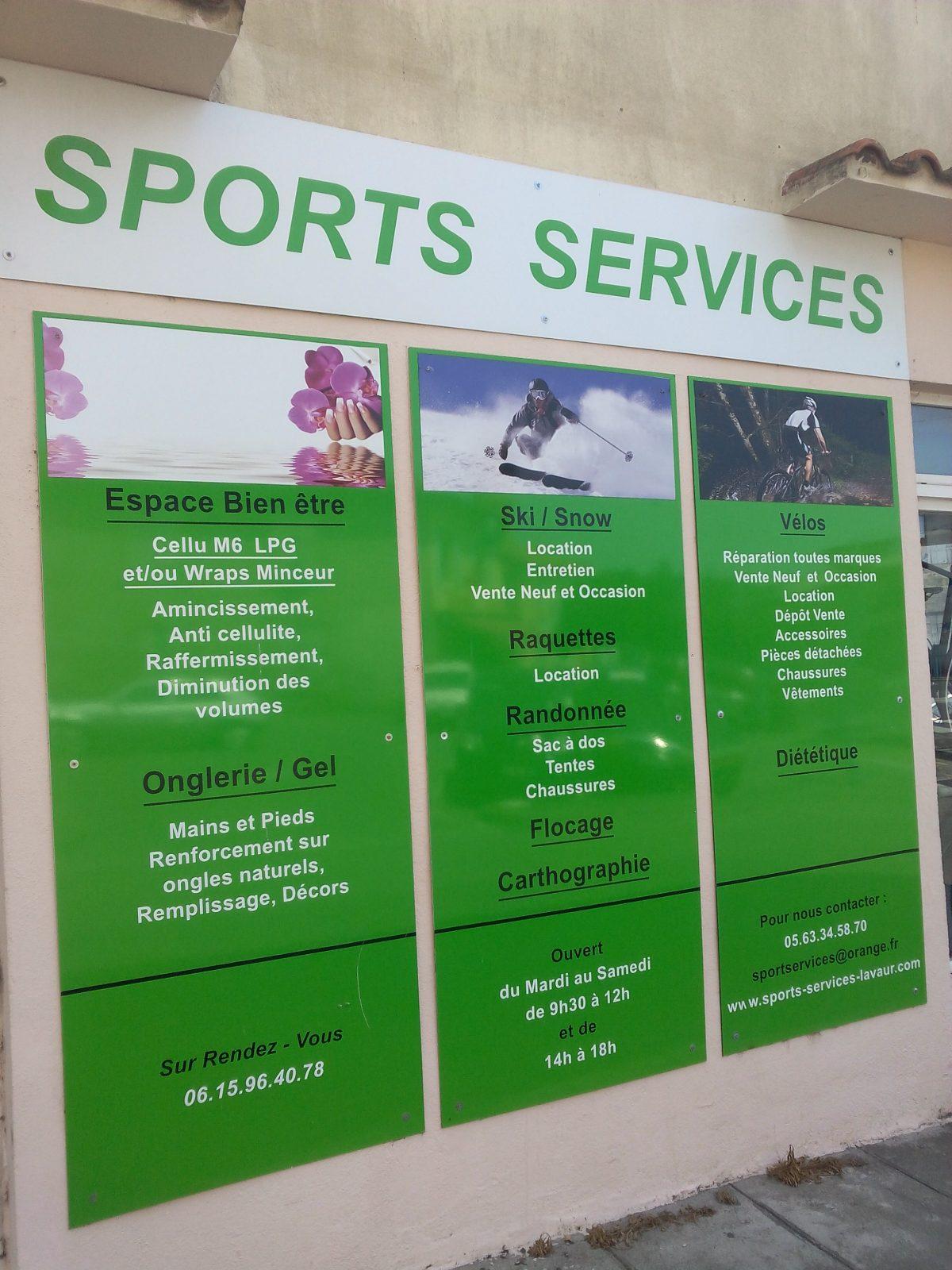 Sports Services – Lavaur – Tarn
