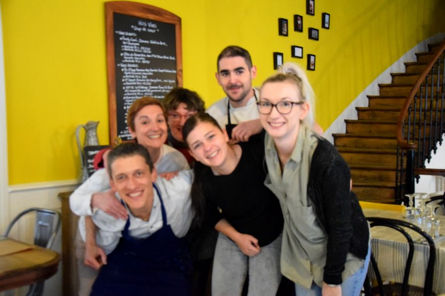 équipe café de Paris