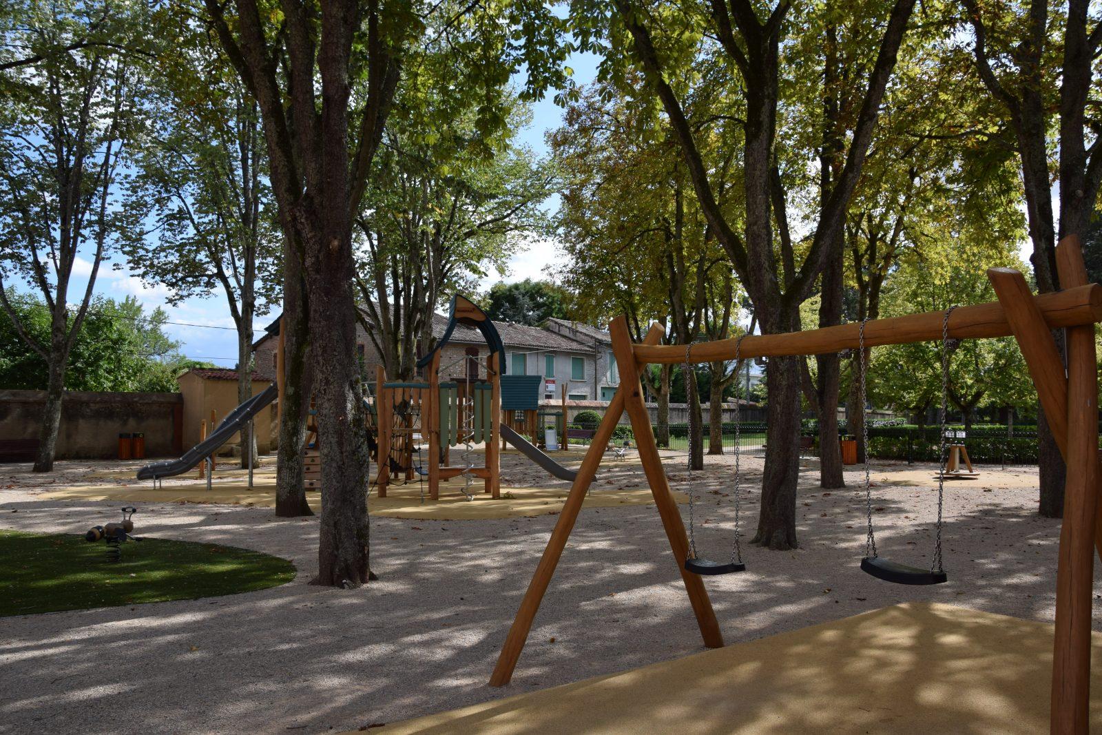 Aire de jeux du parc