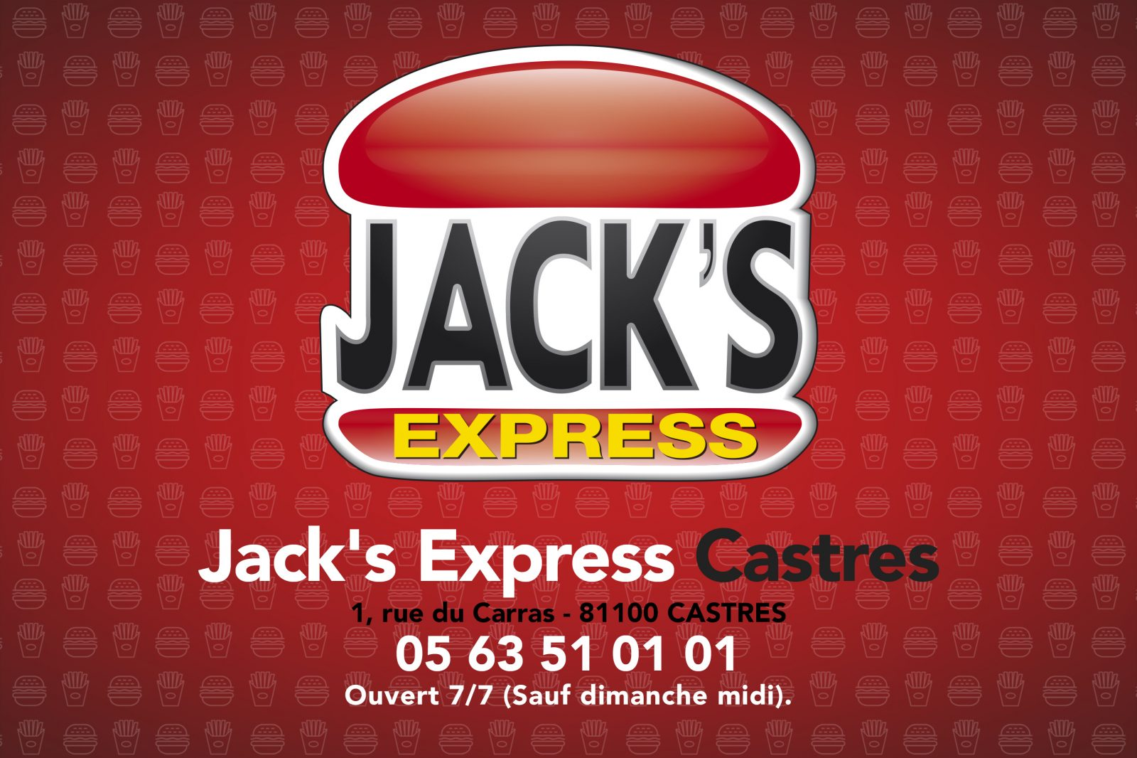 Jack's Express – A emporter