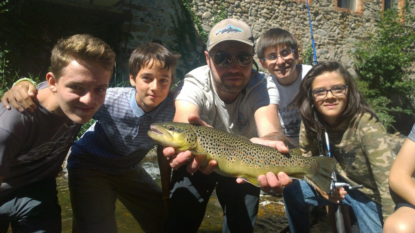 Stage de pêche – Moulin Paradou