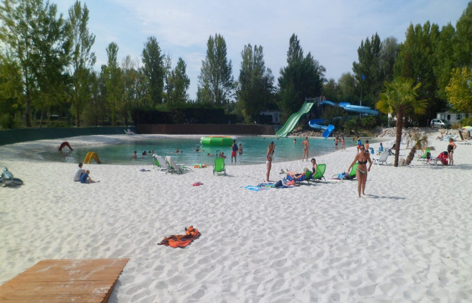 Camping Plan d'Eau St Charles