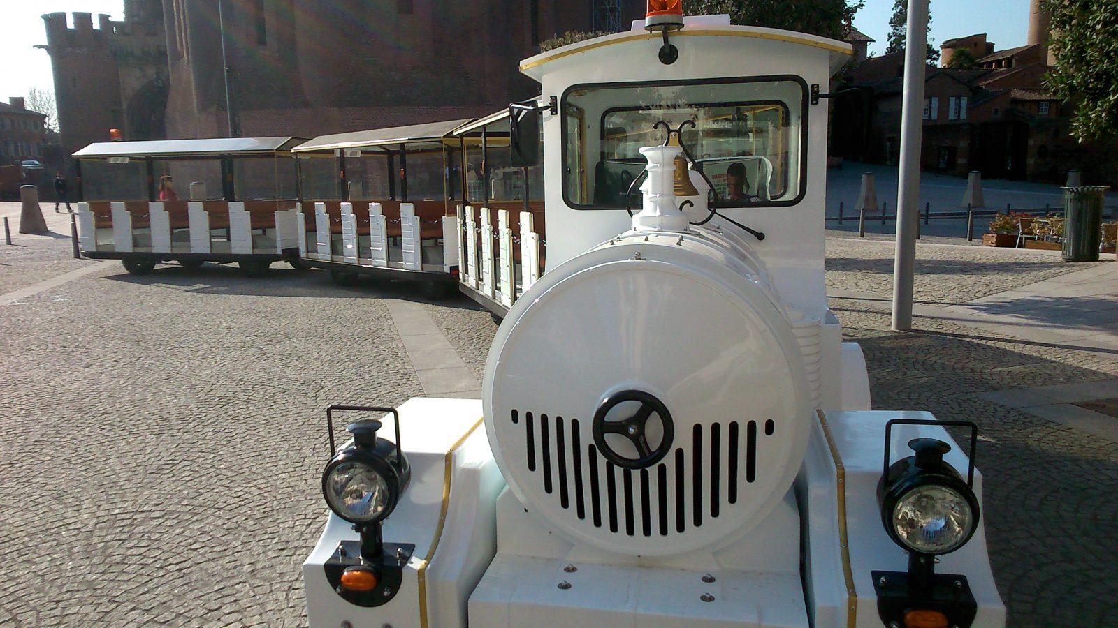 petit train touristique albi
